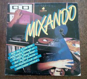 Disco vinile LP 33 Giri. MIXANDO (Dance, Mix, anni 80) Madonna Nadia Cassini Hen