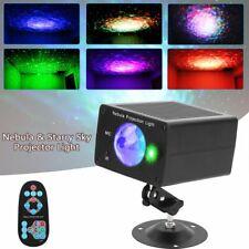 LED Sternenhimmel Laser Projektor Nebula Party Lampe USB Bühnenlicht Disco