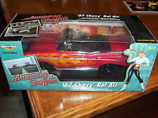 1:18 ERTL  1957 Chevy Convertible with Flames  American Graffiti - KULT