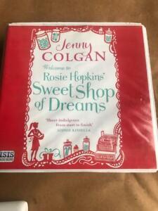 Jenny Colgan - Welcome To Rosie Hopkins Sweetshop of Dreams  audiobook CD  Unabr