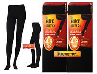 LADIES WOMENS'S WINTER WARM FLEECE LINED THICK THERMAL FULL FOOT TIGHTS