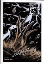 High Grade NIGHT OF THE LIVING DEAD The Beginning #2 2007, Signed George Romero