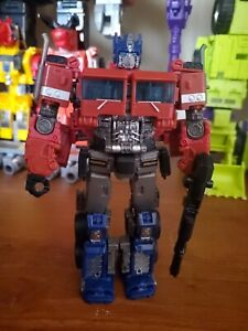 Used Transformers Studio Series 38 Voyager Optimus Prime (Bumblebee Movie)