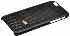 Official BMW M Collection Carbon Effect Hard Case for iPhone 6 Plus - BK