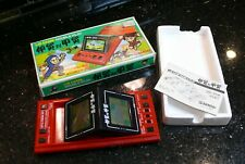 Bandai  NINJA Vintage Handheld Electronic Tabletop Arcade video game watch ✨WOW✨