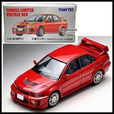 Tomica Limited Vintage NEO LV-N187b MITSUBISHI LANCER EVOLUTION V 5 98' 1/64 EVO