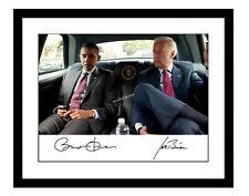 Barack Obama 11x14 Signed photo Joe Biden president 2020 autographed democrat