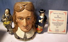 ** ROYAL DOULTON - Double handled - OLIVER CROMWELL w COA - D6968 - EXCELLENT!