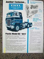 Vintage Original IH International Harvester Transtar Eagle Ertl Toy Truck flyer