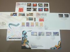 Singapore 1994 five FDC: ICAO, Celebrations, Modern Singapore, Corals & Reef (2)