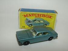 Matchbox Regular Wheels No 53 Ford Zodiac NMIB E4 Box