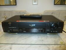 New ListingJvc Hr-S7900U Super Vhs S-Vhs Et Vcr With Remote