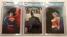 Dark Nights Metal #1 A,B,C  CGC 9.6  - Michael Turner Variant New Slabs