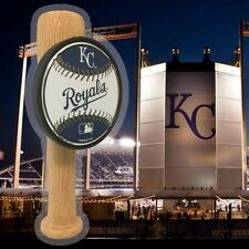 Kansas City Royals themed Baseball Bat beer tap handle KC