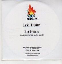 (DG412) Izzi Dunn, Big Picture - DJ CD