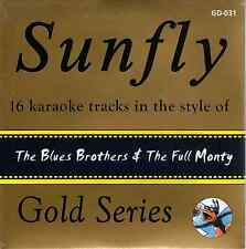 Sunfly Karaoke Gold (SFGD031) - The Blues Brothers & The Full Monty