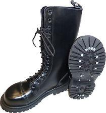 NEU 14-Loch Springer Stiefel Kampfstiefel Army Ranger Boots Armeestiefel BW 45