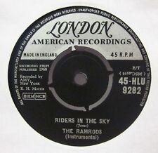 """The Ramrods(7"""" Vinyl)Riders In The Sky-London-HLU 9282-UK-Ex/VG+"""