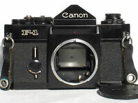 Canon F-1 35mm SLR Film Camera Body    F1