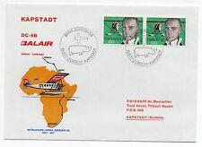1977 SVIZZERA BALAIR VOLO ZURICH-KAPSTAD C/1652