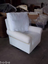 Pottery Barn Comfort Rocker Rocking sofa accent Swivel Chair baby nursery NO SLP