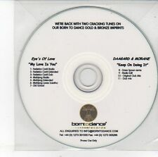 (EH261) Eye's of Love / Daagard & Morane, 11 track split single - DJ CD