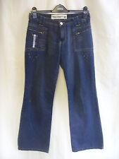 """Ladies Jeans - Diesel, 28""""W, blue distressed look, cool, 32""""L, bootcut - 7845"""