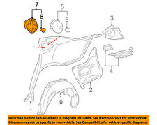 Chevrolet GM OEM 06-13 Impala-Fuel Tank Filler Neck Tube Pipe 10337267