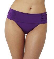 """NWT""""Marina"""" US Size XS Amethyst Fold Pant Bikini Swim Bottom by Panache-60% Off"""