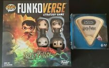 Harry Potter Games: Funkoverse (4 Character Pack) 42631 & Trivial Pursuits NEW
