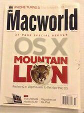 Macworld Mag OSX Mountain Lion iPhon Turns 5 October 2012 100819nonrh