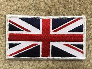#5102 UNITED KINGDOM FLAG BRITISH FLAG UK ENGLAND FLAG Embroidery Iron On Patch
