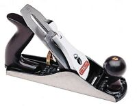 Stanley Bailey Bench Plane 9-3/4 in. Solid Brass Cutter Adjustable Knob New