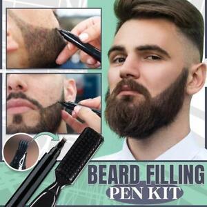Bartfüllstift Wasserdichtes Kit Salon Haargravur Styling Augenbrauen-Werkzeug