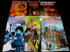 GOTHAM ACADEMY SECOND SEMESTER 1-6 DC COMIC RUN SET 1 2 3 4 5 6 TOTAL