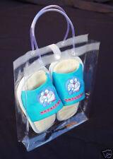 10 Soft Hand Handle Bag  9.5x2.5x12.5 Pouch Bath Beauty Makeup Cosmetic Supplies