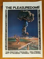 4 x Pleasuredome 1992/93 Acid House Rave Flyer