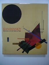 FRANK WHITFORD KANDINSKY WATERCOLORS & WORKS ON PAPER 1999 THAMES & HUDSON TBE
