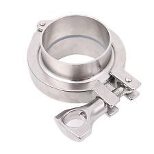 "51MM 2"" OD SS316 Sanitary Pipe Weld Ferrule + Tri Clamp + PTFE Gasket Set"