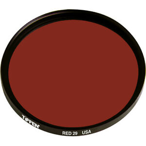 New Tiffen 82mm Dark Red #29 Filter for Black & White Film MFR #82R29