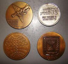 jewish judaica medal lot israel operation jonathan Gadna bet shemesh vintage