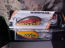 Bomber Bill Dance FAT FREE SHAD BD6FDCF in Color DANCE'S CRAWFISH for Bass/Pike