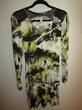 Cosabella Long Sleeve Jersey Printed Dress Size small