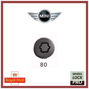 New Mini Cooper Clubman Countryman Locking Wheel Nut Bolt Key 80 - UK Seller