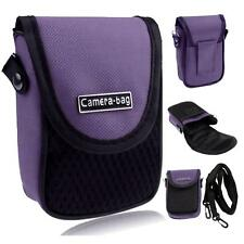 Appareil photo compact Case universel Soft sac pochette + sangle Violet