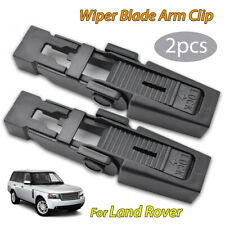 2x Front Wiper Blade Arm Lock Clip For Land Rover Discovery II Range Rover L322