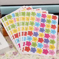 AU_ KE_ BH_ 10 Sheets Stars Decal School Children Kids Teacher Label Reward Stic