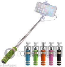 SUPPORTO MINI MONOPOD ASTA ALLUNGABILE SMARTPHONE CELLULARE FOTO SELFIE PULSANTE