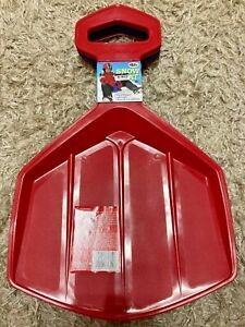 Snow Seat Red Children's Snow Sled, New With Tags