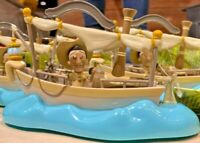2020 Disney Parks Jungle Cruise Attraction Boat Pull Back Pullback Toy Skipper